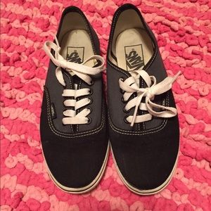 Vans Lo Pro Black/Grey Unisex Women's 7